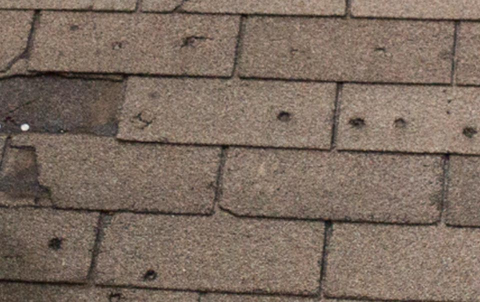 How do I know if my roof has hail damage?