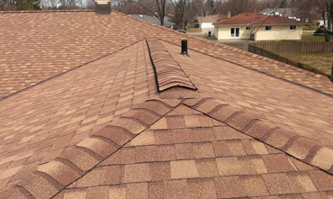 multiple peak roofing