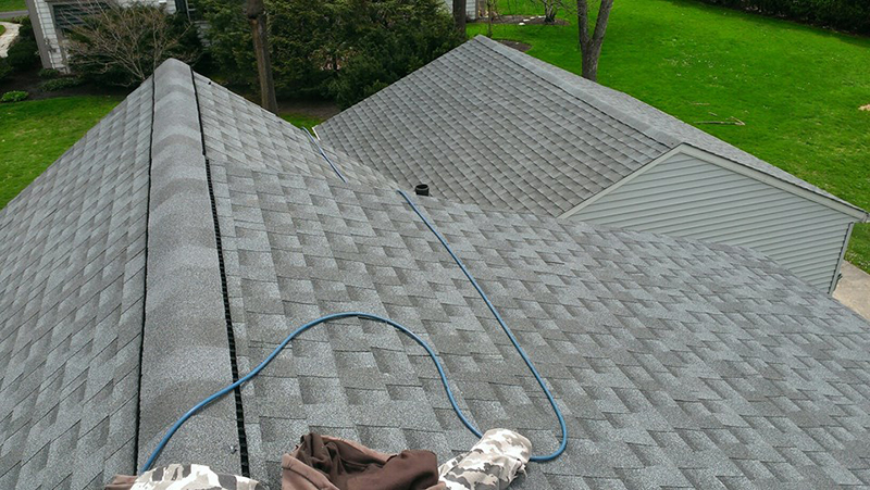 a beautiful new roof